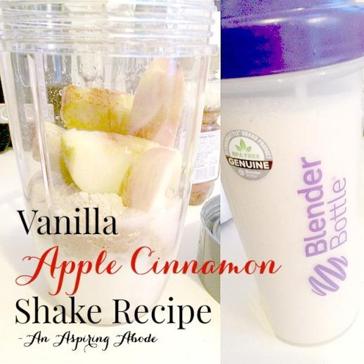 Vanilla Apple Cinnamon Recipe