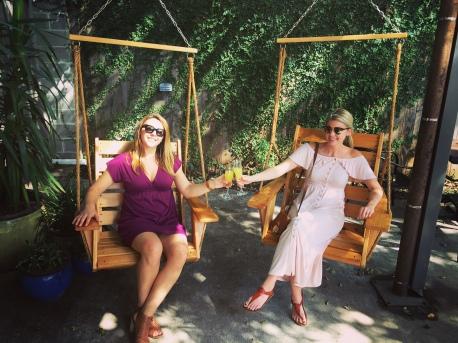 Kelsey and Kristen in Texas